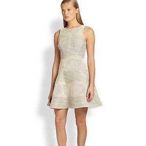 Tibi Striped Stretched Cotton Dress Size 12